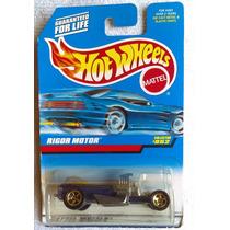 Rigo Motor #852, Hot Wheels 1999, Nuevo En Su Blister