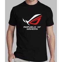 Playera Republic Of Gamer Envío Gratis En El Df
