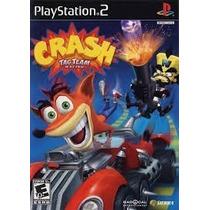 Crash Bandicoot Tag Team Racing Ps2 Patch - Frete Só 6,00
