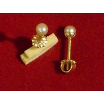 Aros Oro 18 Ktes Perlas Cultivadas