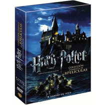 Paquete Harry Potter Coleccion Completa 8 Dvds