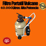 Filtro Barrefondo Portatil Vulcano 40000 Litros La Plata Kit