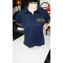 Camiseta Gola Polo Femenina Do Laço Comprido