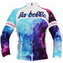 Camisa Feminina Manga Longa Oggi Uniforme Ciclismo Bike