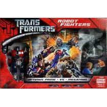 Transformers Robot Boxeadores Optimus Prime Vs Megatron