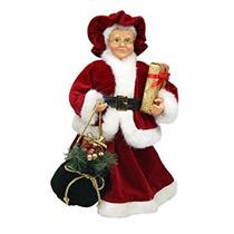Decoración Northlight Señora Claus En Un Vestido Rojo / Bla