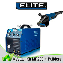 Kit Maquina De Soldar / Elite Mp200 + Pulidora + 5 Discos