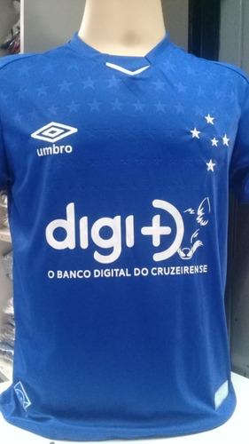 27b35572df062 Camisa Cruzeiro Azul Lançamento 2019 Libertadores - R  60