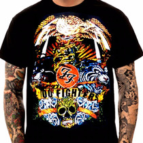 Camiseta Manga Curta Foo Fighters Ref=370