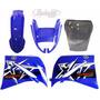 Kit Carenagem Xt660 Azul 2008 C/ Bolha Bombachinijet&cross