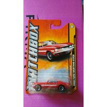 Matchbox 1968 Mustang Gt Cs De Super Coleccion, Ganalo