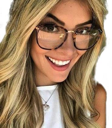Óculos Feminino Armação Grau Geek Quadrado Vintage Flora Dio - R  49,00 em  Mercado Livre a275b365de