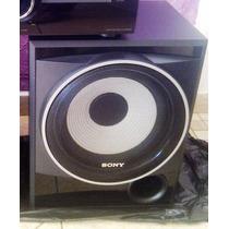Caixa Ativa Sony Muteki Woofer 10 Pol - C/ Amplificador 165w