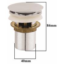 Válvula Automática Tipo Click Em Inox P/ Pia Ou Tanque 40mm