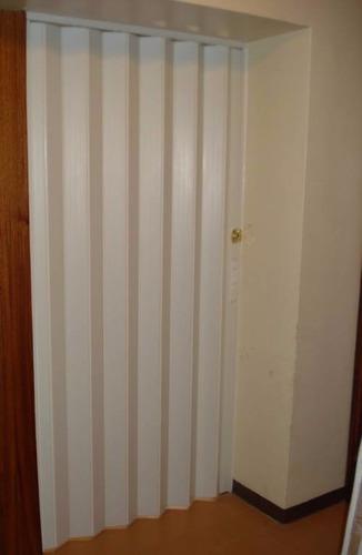 Puerta plegable pvc 0 75 x 2 06 en mercado libre for Cuanto sale una puerta