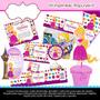 Kit Imprimible Rapunzel Enredados Invitaciones Y Mas