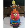 Torta. Artesanal Dragon Ball Z Dulce Pastel Lanús