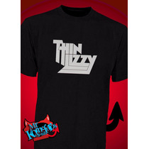 Remeras Thin Lizzy Estampadas Rock Heavy Metal Musica
