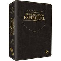Bíblia De Estudo Despertamento Espiritual Luxo Preta Grande