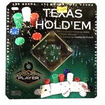 Texas Holdem Set De Poker 2 Naipes 100 Fichas