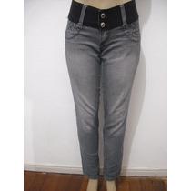 Calça Jeans La Purpurata Tam 40 Elástico Na Cintura Ótima