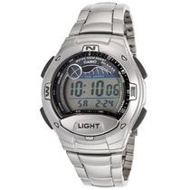 Relógio Casio W-753d-1avdf Tábua De Marés Autorizada Casio