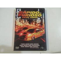 Película Rápido Y Furioso Reto Tokio Dvd
