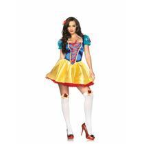 Disfraz Leg Avenue Blanca Nieves Para Halloween