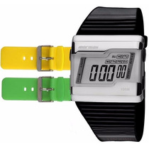 Relógio Mormaii Digital Kit Troca Pulseira Fz/n8p