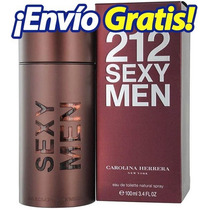 212 Sexy Men 100ml Carolina Herrera Original Nuevo Sellado