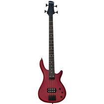 Bajo Electrico Bass 4 Cuerdas Rojo Sunsmile Sbc 10
