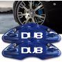 Par Capa Pinça Freio Universal Azul Serve Varios Carros
