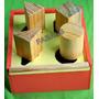Juguete Didactico Caja Meter Figuras Madera Tacos Niño Bebe