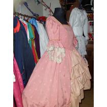 Vestido Disfraz De Dama Antigua