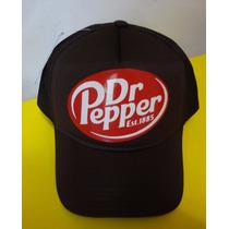 Boné Dr Pepper Trucker Cap Marrom