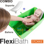 Flexibath Plegable Con Soporte Bañera Bebe Plástico Stokke