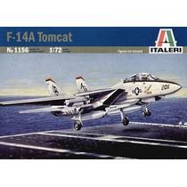 Avião F-14 A Tomcat Kit P/ Montar Italeri Escala 1/72