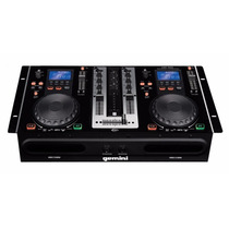 Dual Player Gemini Cdmp 6000 (cd Player Duplo + Mixer+ Usb)