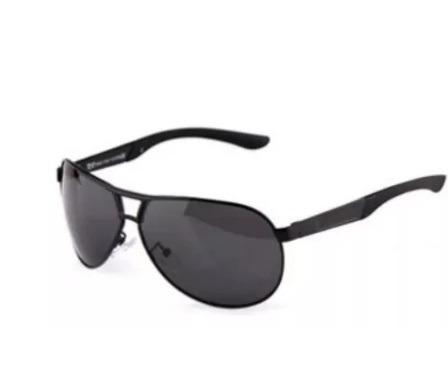Óculos De Sol Masculino Escuro Polarizado Preto Estilo Luxo - R  116,89 em  Mercado Livre 9916430ddc