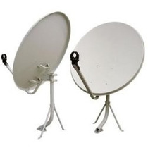 Kit Satelital Para Tv Gratis Fta Antenas Mas Receptor.