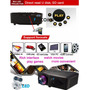 Mini Proyector Video Beam Led 3 D Atco 1300 Lumens 1080p Hd