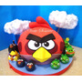 Torta Infantil Angry Birds