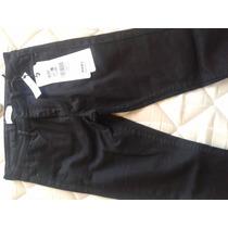 Pantalón Pitillo Foster Talla 38 Negro Nuevo