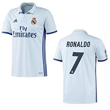 Camisa Franela Real Madrid Local 2016 2017 Cr7 Sergio Ramos - Bs ... 42715acc85024