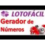 Planilha Gerar Jogos Loterias Lotofacil Mega Sena Quina