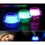 Humidificador De Aire Transparente Luz Led Purifica Aire