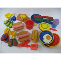 Accesorios De Cocina Para Niñas Juego De Comida Y Ollas