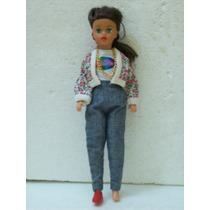 Brinquedo Antigo Estrela Boneca Susi Morena Anos 80