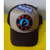 Bone Nada Wear Shark Tubarão Trucker Cap Tela Original