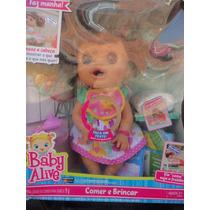Boneca Baby Alive Comer E Brincar Fala Portuguê